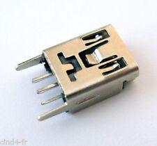 Connecteur à souder mini USB type B femelle / Female connector SMD socket solder