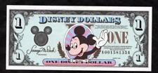 *1994 DISNEY 1 DOLLAR W/ MICKEY MOUSE 'AA' CH. UNC. & ENVELOPE  PLEASE LQQK!