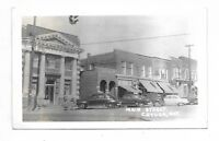 Haldimand County CAYUGA, ONTARIO  Main Street   store fronts, autos, bank