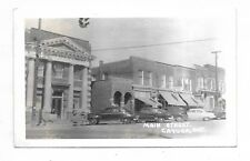 Haldimand County CAYUGA, ONTARIO  Main Street   store fronts, autos, bank