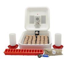 HovaBator 2370 Egg Incubator | IncuTurn Auto Turner | Feeder & Waterer Kit