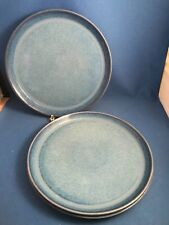 Three (3) MCM DANSK DESIREE STARDUST Dinner Plates Danish Modern Stoneware & Dinner Plate Blue Vintage Original Dansk China u0026 Dinnerware | eBay