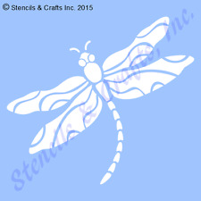 "4"" DRAGONFLY STENCIL BUG STENCILS TEMPLATE WINGS PAINT PATTERN INSECT COLOR NEW"
