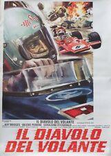 """LAST AMERICAN HERO"" Affiche italienne entoilée (Jeff BRIDGES, Valerie PERRINE)"