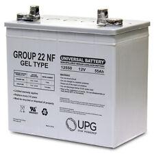 UPG 12V 55AH (Group 22NF) GEL Battery for John Deere 3120, 3320 Utility Tractor