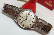 VINTAGE 1968 OMEGA SEAMASTER GENEVE CROSSHAIR DIAL AUTO CAL:565 MAN'S WATCH