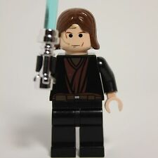 Lego Star Wars minifigure ANAKIN SKYWALKER with weapon 7256 7283
