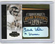 CHARLES WHITE 2005 PLAYOFF HONORS AWARDS WINNERS AUTOGRAPH #248/300 -INSCRIBED!!