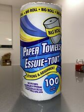 4 Big Rolls of Paper Towel Strong and Absorbent