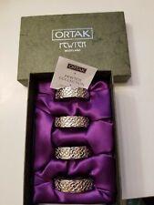 New listing Ortak Celtic design Napkin rings set of 4