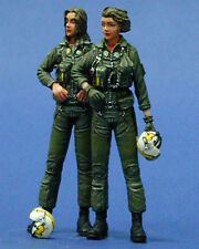 Legend Productions 1:35 WWII US Navy Woman Pilot Resin Figure Kit 2 pc #LF0045