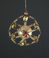Gablonzer Ornament mit Glasperlen, ~ 1920  (# 12918)