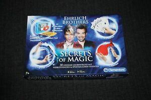 "Clementoni Ehrlich Brothers ""Secrets Of Magic"" Zauberkasten (59048), Neuwertig"