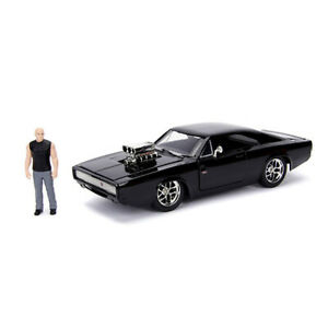Jada 1/24 F&F Dom with 1970 Dodge Charger - Fast n Furious Movie