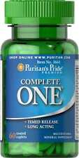 Puritan's Pride Complete One Multivitamins Minerals Timed Release 60 Caplets
