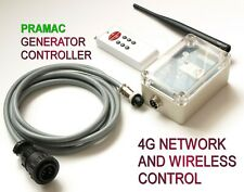 Pramac Generator Compatible Wireless Controller. 4G Network and Key Fob Control