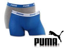 Puma 2er Pack Jungen Boxershorts Unterwäsche Gr. 134-140 blau/grau (417)