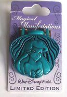 Disney Pin Ariel Magical Manifestations LE The Little Mermaid Pin Shell hinged