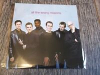The Magnets:   All The Wrong Reasons  one track promo CD