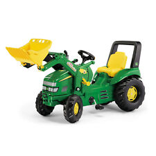 Rolly Toys Kinder X-Trac John Deere Trettraktor Traktor mit Maxi Lader / 046638