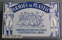 Armies In Plastic 5464 American Revolution Continental Army NOS 1/32 Scale