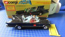 Genuine original Corgi 267 Batmobile 1976 excellent near mint with original box
