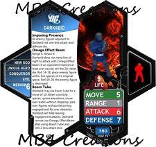 Heroscape Custom DC Darkseid Figure With Double-Sided Card!
