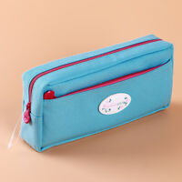 Students Super Large Capacity Canvas Pencil Case Pen Bag Pouch Stationary S
