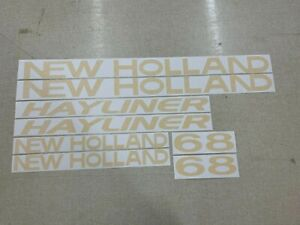 New Holland 68 Hayliner Decals