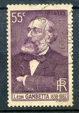 STAMP / TIMBRE FRANCE OBLITERE N° 378 LEON GAMBETTA