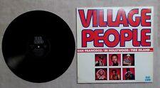 DISQUE VINYL 33T LP MUSIQUE / VILLAGE PEOPLE  5T 1977 BLACK SCORPIO BS 11 110