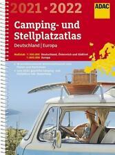ADAC Camping- und Stellplatzatlas Deutschland/Europa 2021/2022 (Taschenbuch)