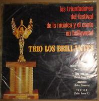 TRIO LOS BRILLANTES -- LOS TRIUNFADORES DEL FESTIVAL DE LA MUSICA ... vinyl  LP