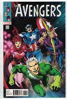 Avengers #1.1 Alan Davis 1:50 Retailer Incentive Variant Quicksilver Marvel 2015
