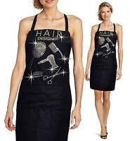 Bling Bling Apron Hair Stylist Dresser Rhinestones Salon Beauty Hair Designer