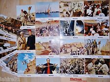 KHARTOUM ! charlton heston jeu 24  photos cinema heliogravures lobby cards 1966