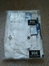 Helly hansen work trousers, C62, off white,brand new with tags