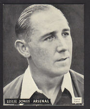 Topical Times - Great Players 1938 - Leslie Jones - Arsenal