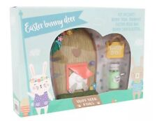 Easter Bunny Fairy Door & Accessories - Gift Boxed