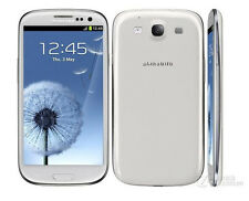 White Original Samsung Galaxy S3 III GT-I9300 16GB Unlocked Android Smartphone