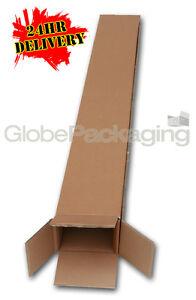 """5 x S/W LONG TALL GOLF CLUB BOXES - 49 x 5 x 5"""" 24HRS"""