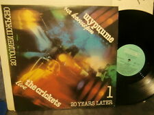 """the crickets""""live""""/20 years later""""lp12""""or.bulgarie.bal:12327 rare rock/prog 1988"""