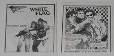 """White Flag - Skate Across Europe - SuperSeven U.S. 7"""" vinyl"""