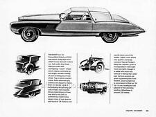 Old Print.  1964 Packard Twin Six Convertible Victoria - Automobile