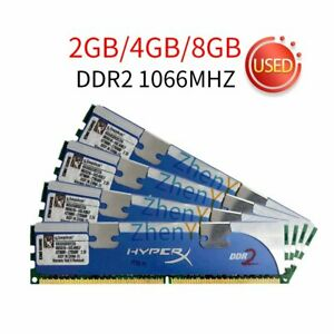Kingston HyperX 8GB 4GB 2GB DDR2 1066MHz KHX8500D2/2G PC2 Overclock Memory 777