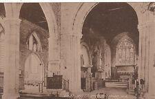 Church Interior & Pulpit, LEDBURY, Herefordshire
