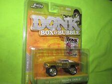 70 monte carlo 1970 chevy  JADA DONK BOX & BUBBLE MAG PREMIERE metallic gold
