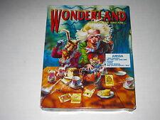 Wonderland (Amiga, 1990) Rare, Vintage Game