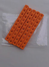 Maths Link Cubes (New Pack of 50 orange counting cubes 2cmx2cmx2cm)