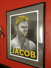 I'm With Jacob LOST TV show Mike Mitchell Poster Print Signed RARE Art 2010